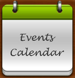Calendar of events at the library